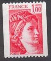 France N°1981 Neuf ** 1978 N° Rouge Au Dos - Nuovi