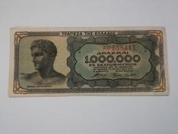GRECIA 1000000 DRACHMAI 1944 - Grecia