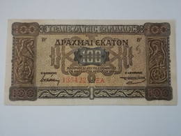 GRECIA 100 DRACHMAI 1941 - Grecia