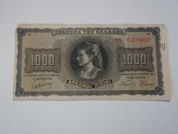 GRECIA 1000 DRACHMAI 1942 - Grecia