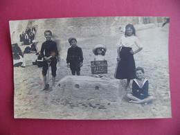 LE PORTEL 62 Pas De Calais 1912 Enfants Sur La Plage - Luoghi