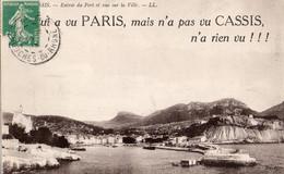 13 QUI A VU PARIS MAIS N' APAS VU CASSIS N' A RIEN VU !!! - Cassis