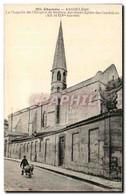 CPA Charente Angouleme La Chapelle De L&#39hospice De Baulien Ancienne Eglise Des Cordeliers - Angouleme