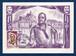 ⭐ France - FDC - Premier Jour - Carte Maximum - Raimu - 1961 ⭐ - 1960-69
