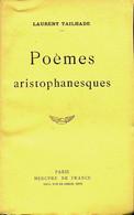 Poèmes Aristophanesques De Laurent Tailhade (1915) - Ohne Zuordnung