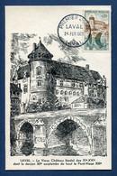 ⭐ France - FDC - Premier Jour - Carte Maximum - Laval - 1962 ⭐ - 1960-69