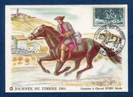 ⭐ France - FDC - Premier Jour - Carte Maximum - Journée Du Timbre - 1964 ⭐ - 1960-69