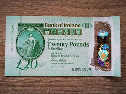 North Ireland Bank Of Ireland £20 UNC - Ireland