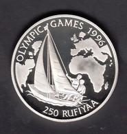 MALDIVES  OLYMPIC GAMES 1996  SILVER - Maldives