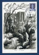 ⭐ France - FDC - Premier Jour - Carte Maximum - Blason De Niort - 1964 ⭐ - 1960-69
