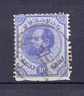 CURACAO - 1873- YT 4 - Guillaume III (o) - Curaçao, Nederlandse Antillen, Aruba