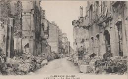 Meuse : VERDUN : Campagne 1914-17 :  Rue  Chevert - Verdun