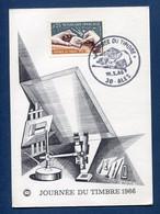 ⭐ France - FDC - Premier Jour - Carte Maximum - Journée Du Timbre - 1966 ⭐ - 1960-69