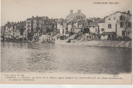 Meuse : VERDUN : Campagne 1914-17 :  Rue  Quartier Au Bord D Ela  Meuse - Verdun