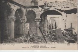 Meuse : VERDUN : Campagne 1914-17 : Int. Du  Cloitre D El'   évéché - Verdun