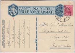 Ital. Eritrea - 75 C. Freimarke Feldpostkarte N. CSR Posta Militare No.90 1936 - Zonder Classificatie