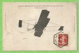 A138   CPA  Grande Semaine D'Aviation De Champagne (Journée Du 26 Août)  CURTISS En Plein Vol  +++++ - ....-1914: Precursori