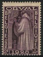 België 263 ** - Eerste Orval - 2F Violet - Unused Stamps