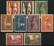 """België 272A/72K * - Eerste Orval - Overdrukt Met """"L"""" En Kroon En """"19-8-29"""" - Unused Stamps"""