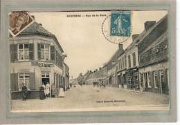 CPA - (59) REXPOEDE - Aspect De L'Estaminet à L'angle De La Rue De La Gare En 1911 - Otros Municipios