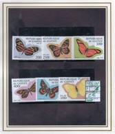 AFRICA#GUINEA#BUTTERFLIES#INSECTS# COMMEMORATIVES#COMPLETE SET#PARTIAL#  (BUI-270W-1 (28) - Schmetterlinge