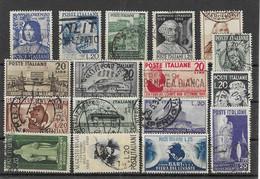 Italien - Selt./gest. Lot Kplt. Serien Aus Ca. 1949/54 - Unbewertet! - 1946-60: Afgestempeld