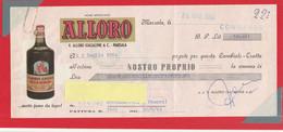 V.D.0119 - CAMBIALE Con Sollecito Di Pagamento, Emessa Dalla Ditta ALLORO Di Marsala 26 Giugno 1964 - Cambiali