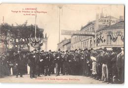 CPA 33 Libourne - Voyage Du Président De La République 24 Avril 1905 - Musiciens De La Gare Républicaine, Rue Chanzy - Libourne