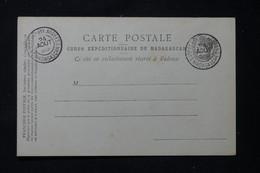 MADAGASCAR - Carte Postale Du Corps Expéditionnaire De Madagascar Avec Oblitération D'Armée En 1895 - L 86294 - Storia Postale