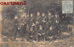 CARTE PHOTO : CAMP DE MAILLY FANFARE MILITAIRE MUSICIEN MUSIQUE MILITAIRE GUERRE 10 AUBE - Regiments