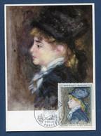 ⭐ France - FDC - Premier Jour - Carte Maximum - Auguste Renoir - 1968 ⭐ - 1960-69