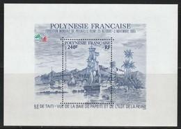 POLYNESIE - BLOC N°11 ** (1985) - Blocs-feuillets