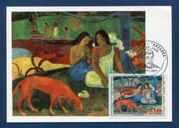 ⭐ France - FDC - Premier Jour - Carte Maximum - P Gauguin - 1968 ⭐ - 1960-69