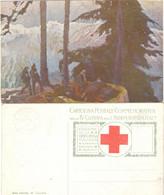 ALPINI - T. Cascella - PRO CROCE ROSSA - Un Nido Di Alpini - Ante 1900