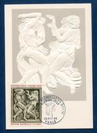 ⭐ France - FDC - Premier Jour - Carte Maximum - Antoine Bourdelle - 1968 ⭐ - 1960-69