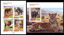 S. TOME & PRINCIPE 2020 - Extinct Species, M/S + S/S. Official Issue [ST200604] - Vor- U. Frühgeschichte