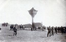AVIATION    CARTE PHOTO ACCIDENT D'AEROPLANE - ....-1914: Precursors