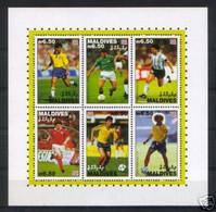 Soccer World Cup 1994 - Football - MALDIVES - Sheet MNH - 1994 – Verenigde Staten