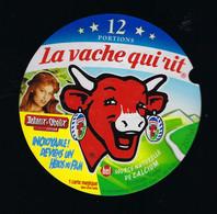 étiquette Fromage La Vache Qui Rit Bel 12 Portions 200g Falbala Asterix Obelix Devient 1 Héros Du Film - Cheese