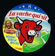 étiquette Fromage La Vache Qui Rit Bel 8 Portions 170g Obelix Asterix Obelix Devient 1 Héros Du Film - Cheese