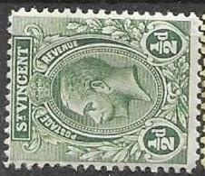 1913 St Vincent  Mint Hinged * Multiple CA Watermark - St.Vincent (...-1979)