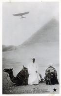 AVIATION    MONOPLAN  BLERIOT AU DESSUS DE LA PYRAMIDE DE   GISEH - ....-1914: Vorläufer