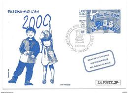 CARTE / DESSINE MOI L'AN 2000 / 1999 / PERIGUEUX - 1990-99
