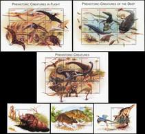 LESOTHO 1998 Prehistoric Creatures Dinosaurs Reptiles Birds Animals Fauna MNH - Vor- U. Frühgeschichte