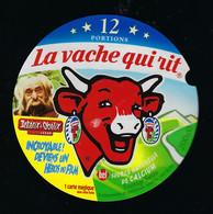 étiquette Fromage La Vache Qui Rit Bel 12 Portions 200g Agecanonix Asterix Obelix Devient 1 Héros Du Film - Cheese