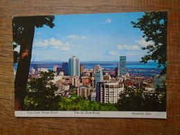 Canada , Montréal , Vue Du Mont Royal - Montreal