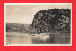 PADDLE STEAMER    LORELEY GERMANY. RP - Paquebote