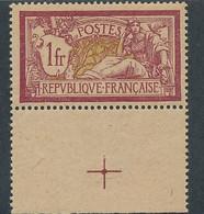 DX-351: FRANCE: Lot Avec N°121f* (papier GC) - 1900-27 Merson