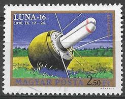 Hungary 1970. Scott #C310(d) (U) Luna 16, Nose Cone On Ground - Gebruikt