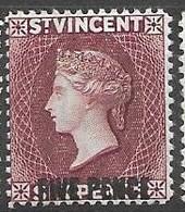 1893 St Vincent  Mint Never Hinged ** - St.Vincent (...-1979)